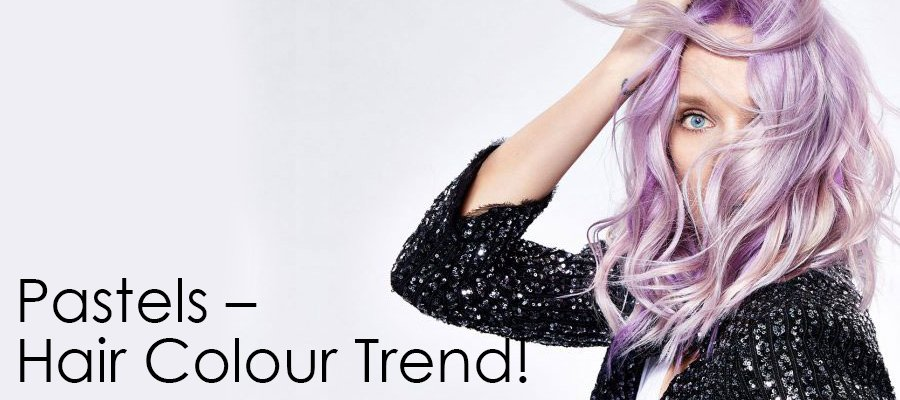 Pastels – this season's hottest new hair colour trend!