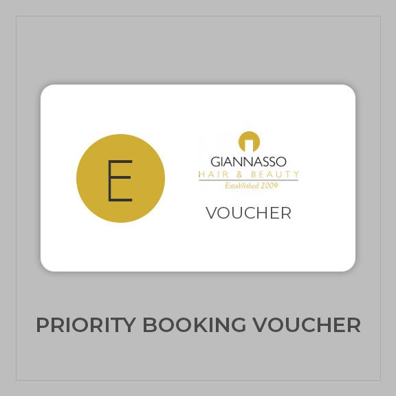 Giannasso E Priority Booking Voucher