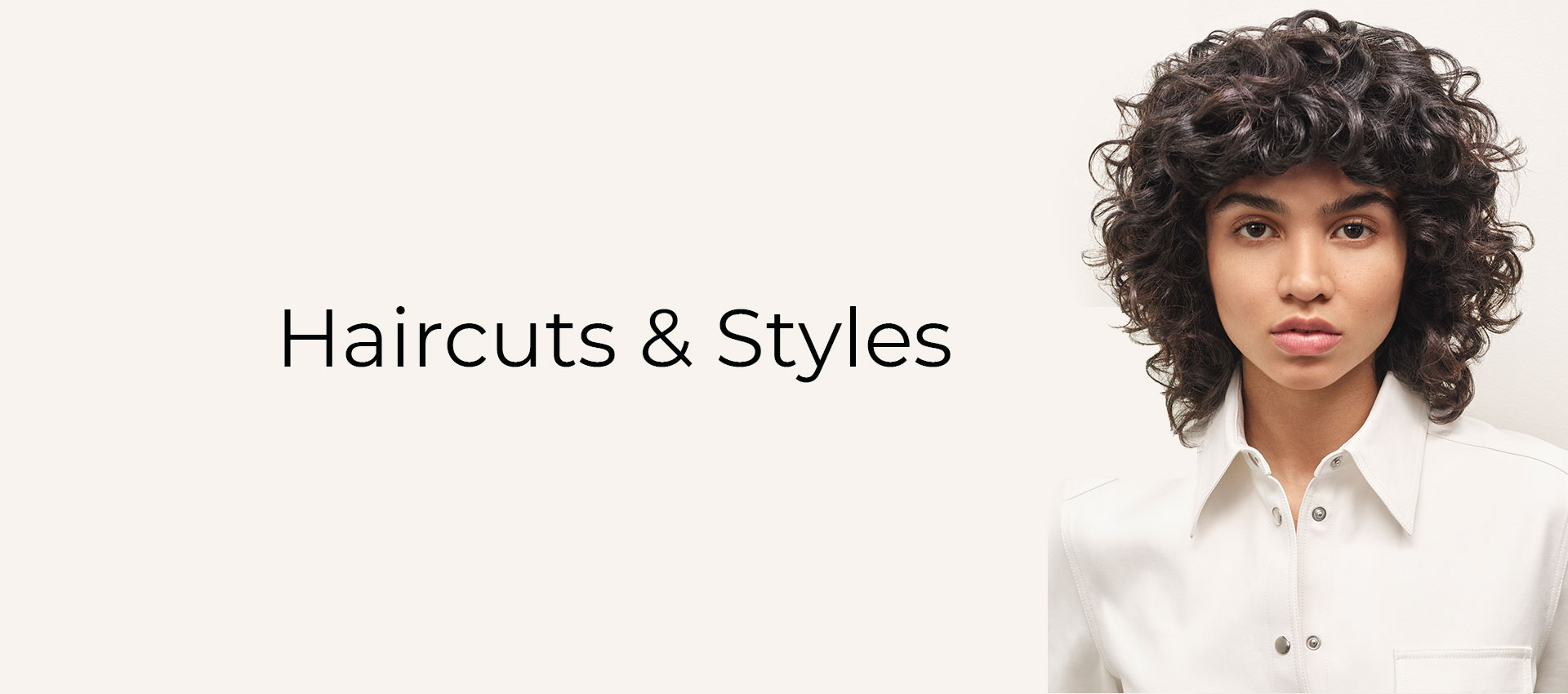 Haircuts Styles Banner