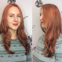 Beautiful Hair Colour Results at Giannasso Hair & Beauty Salon in Covent Garden